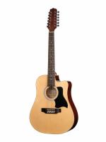 Hora W12205CTW-NAT Standart Western Акустическая гитара 4/4, 12-струнная с вырезом