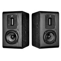 Quad S-1 black oak Полочная акустика