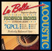LA BELLA 7GPCL Струны для акустической гитары