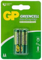 GP GP15G-2CR2 Элемент питания АА, солевой, 2шт