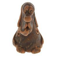 Керамика Щипановых SB02 Свистулька большая Собака, обварная