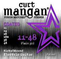 CURT MANGAN 11-48 Pure Nickel Wound Set струны для электрогитары