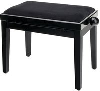 GEWA FX Piano Bench Black High Gloss Black Seat Банкетка