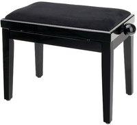 GEWA FX Piano Bench Black High Gloss Black Seat Банкетка