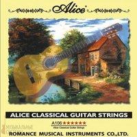 Alice AC106-H Комплект струн для классической гитары, нейлон, посеребренная медь