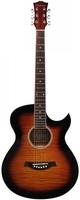 Caraya F531-TBS Акустическая гитара, с вырезом, санберст