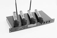 LAudio LS-804-M Вокальная радиосистема, 4 ручных передатчика