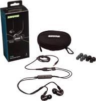 SE215-K+UNI-EFS Вставные наушники (внутриканальные) Shure с микрофоном, черные