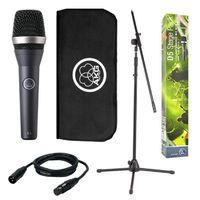 AKG D5 STAGE PACK Комплект: микрофон D5 + стойка-журавль + микрофонный шнур 5м