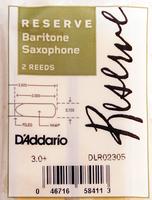 Rico DIR02305 Reserve Трости для саксофона сопрано, размер 3.0+, 2шт