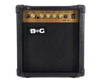 "BG MA15 Усилитель гитарный комбо, 15 Вт, 6,5"",Overdrive, Input, Drive S/W, Volume, Treble, Middle, Bass, Headphone ,MP3 Input"