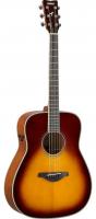 YAMAHA FG-TA BROWN SUNBURST Трансакустическая гитара, традиционный вестерн