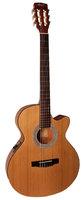 Cort CEC1-NAT Classic Series Электро-акустическая классическая гитара, с вырезом, цвет натуральный