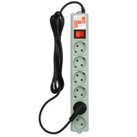 PowerCube SPG(5+1)-B-15 Фильтр-удлинитель 5м