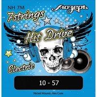 NH-7M Hit Drive Комплект струн для 7-струнной электрогитары, Medium, 10-57