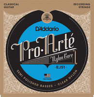 D'Addario EJ51 Pro-Arte Струны для классической гитары, полир. басовые струны, сильное натяжение