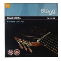 STAGG CL-NT-AL Струны для классической гитары. Нормальные, посеребреная навивка