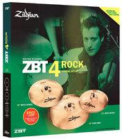 Zildjian ZBT 0ZBT 4 Rock 2009 PROMO BOX SET, ZBTR4P-9A