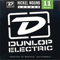 Dunlop DEN1150 Комплект струн для электрогитары, никелированные, Medium Heavy, 11-50