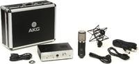 "AKG P820 Tube - Ламповый микрофон, предусилитель, SH300 ""паук"", КЕЙС"