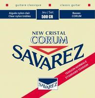 SAVAREZ 500CR New Cristal Corum Normal Tension струны для классической гитары
