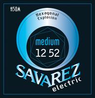 Savarez H50M Hexagonal Explosion Комплект струн для электрогитары, никелированные, 12-52