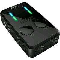 IK MULTIMEDIA iRig Pro DUO компактный аудио/midi интерфейс для цифрового подключения к iOS, Android, Mac и PC,