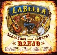 La Bella 730L-BE Комплект струн для 5-струнного банджо