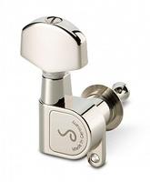 Schaller 10010123.02.36 M6 180 Комплект одиночной колковой механики, 3 л+3 пр, большие, металл