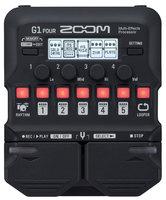 Zoom G1 FOUR гитарный процессор мультиэффектов, работает с Guitar Lab