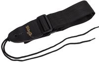 STAGG SN5 BLK/XL -  плетеный нейлоновый ремень для гитары, длина 162-183 см, черного цвета