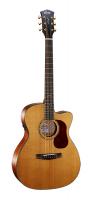 Cort Gold-OC6-NAT Gold Series Электро-акустическая гитара, с вырезом, цвет натуральный