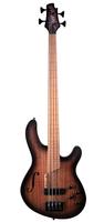 Cort B4FL-MHPZ-OPTA Artisan Series Бас-гитара безладовая, коричневый санберст