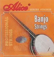 Alice AJ04 Комплект струн для банджо, сталь/медь, 009-030