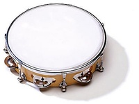"Sonor Global CG TT 8P Тамбурин 8"", пластик, 6 пар бубенцов"