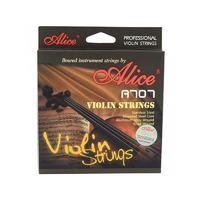 Alice A707 Комплект струн для скрипки размером 4/4, среднее натяжение, металл