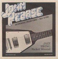 John Pearse 2750 (12-52) Струны для электрогитары
