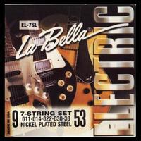 La Bella EL-7SL Комплект струн для 7-струнной электрогитары 009-053