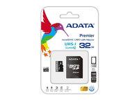 ADATA MICRO SDHC 16GB CLASS10 W/A AUSDH16GUICL10A1-RA1 Карта памяти