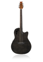 APPLAUSE AE44IIP-TBKF Elite Mid Cutaway Trans Black Flame