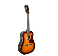 Caraya F64012-BS Акустическая 12-струнная гитара, санберст