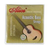 Alice A616(4)-L Комплект струн для акустической бас-гитары, Сталь/медь, 40-95