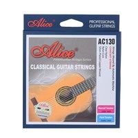 Alice AC130-N комплект струн для классической гитары, нейлон, посеребренная медь