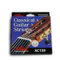 Alice AC139-H Комплект струн для классической гитары, сильное натяжение, посеребренные