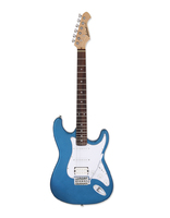 Aria STG-004 See-through Blue Гитара электрическая