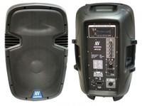 """AudioVoice AP212D, 1х12"""" 300Вт RMS, Активная 2х полосная акустическая система MP3 плейер"""
