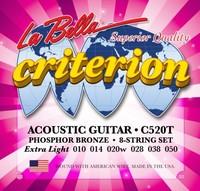 LA BELLA C520T Струны для акустической гитары