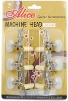 Alice AOD-018CP Комплект колковой механики для классической гитары, с втулками