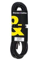STANDS & CABLES MC-030XJ-10, XLR папа - JACK 6,3 мм. стерео, 10 метров