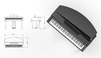 Artesia AG-28F Цифровой кабинетный рояль